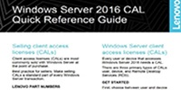 Make More Revenue With CALs & Windows Server 2016