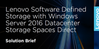 Lenovo Storage Spaces Direct Solution Brief