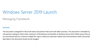 Windows Server 2019 SMB Messaging Framework
