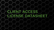Client Access License Datasheet