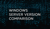 Windows Server 2019 Version Comparison