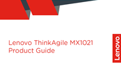 Lenovo ThinkAgile MX1021 Product Guide